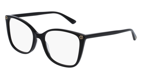 Gucci GG0026O-001 Black Eyeglasses / Demo Lenses
