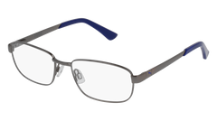 Puma - PJ0011O Junior Ruthenium Eyeglasses / Demo Lenses