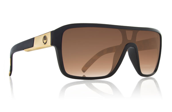 Dragon - Remix Leopard / Bronze Gradient Sunglasses