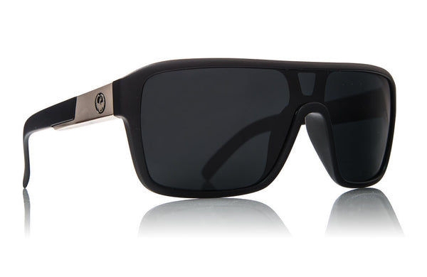 Dragon - Remix Matte Black / Grey Performance Polar Sunglasses