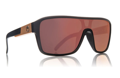 Dragon - Remix Matte Black / Rose Gold Ion Sunglasses