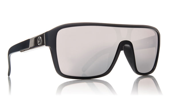 Dragon - Remix Matte Black / Silver Ion Sunglasses