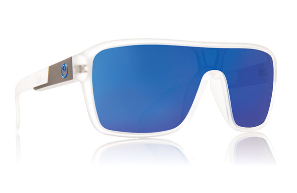 Dragon - Remix Matte Clear / Blue Ion Sunglasses