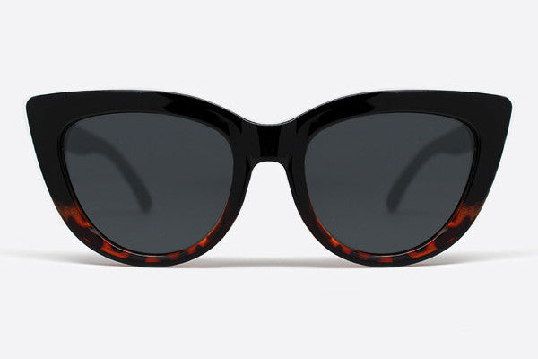 Quay Rhymes Black Tortoise Sunglasses