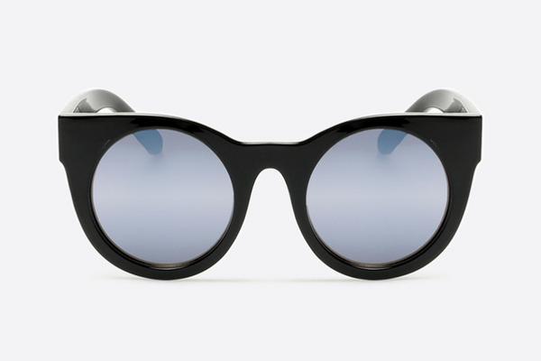 Quay Right Time Black / Lilac Sunglasses