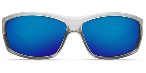 Costa - Saltbreak Silver Sunglasses / Blue Mirror Polarized Glass Lenses