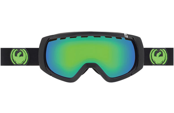 Dragon - Rogue Jet / Green Ion + Yellow Blue Ion Goggles