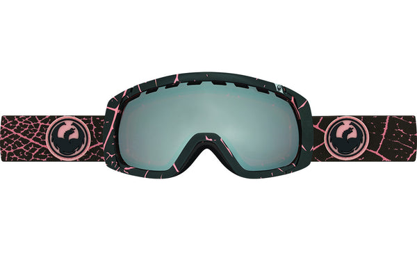 Dragon - Rogue Petal Pink / Ionized + Dark Smoke Goggles