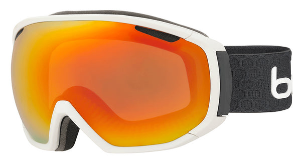 Bolle - Tsar Matte White Grey Snow Goggles / Sunrise Lenses