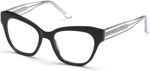 Marciano - GM0339 Shiny Black Eyeglasses / Demo Lenses