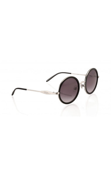 Wildfox - Ryder Black & Silver Mirror Sunglasses