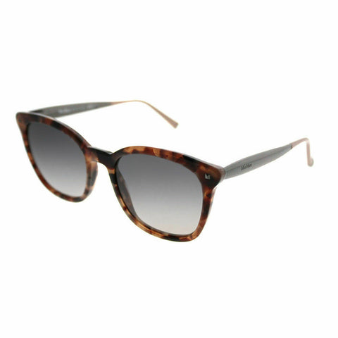 Max Mara - Needle III Beige Havana Ruthenium Sunglasses / Gray Gradient Lenses