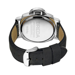 Breda 1654 Silver / Black Watch