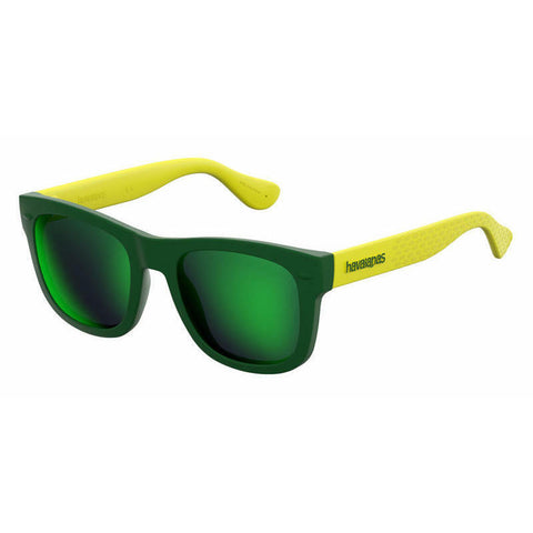Havaianas - Paraty S Green Yellow Sunglasses / Green Multi Layer Lenses