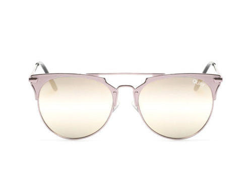 Quay x Chrisspy Gemini Rose Gold / Pink Sunglasses