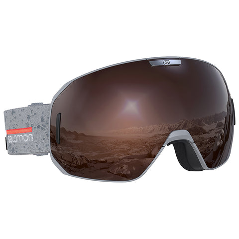 Salomon - S/Max  Access Grey Snow Goggles / Tonic Orange Solar Mirror Lenses