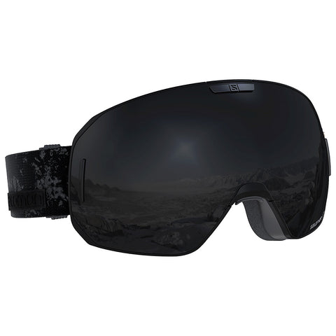 Salomon - S/Max Black Snow Goggles / Solar Black Lenses