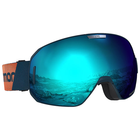 Salomon - S/Max Moroccan Blue Snow Goggles / Solar Blue Lenses