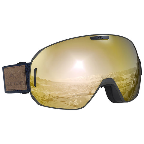 Salomon - S/Max Olive Night Snow Goggles / Solar Bronze Lenses
