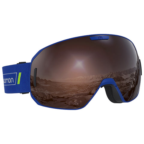 Salomon - S/Max Race Blue Snow Goggles / Tonic Orange Lenses