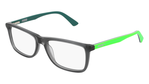Puma - PU0146S Violet Sunglasses / Green Lenses