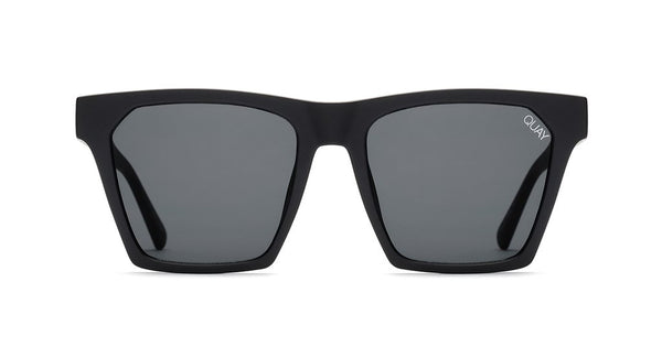 0c0bb27a5f4 Quay Alright Black Sunglasses   Smoke Lenses