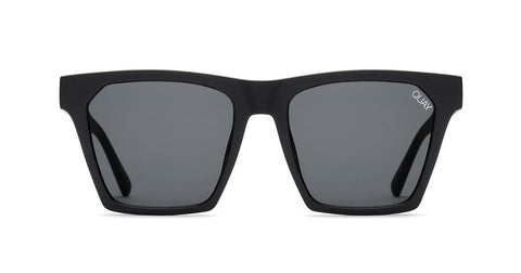 Quay - Alright Black Sunglasses / Smoke Lenses