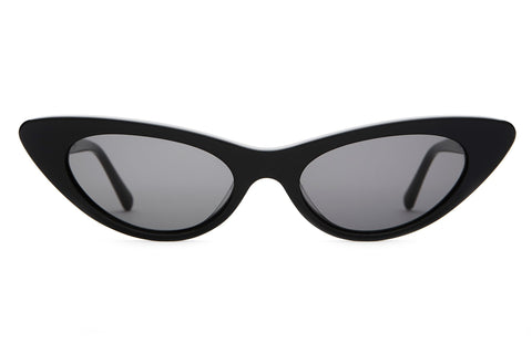 Crap Eyewear Ultra Jungle Black Sunglasses / Grey Lenses
