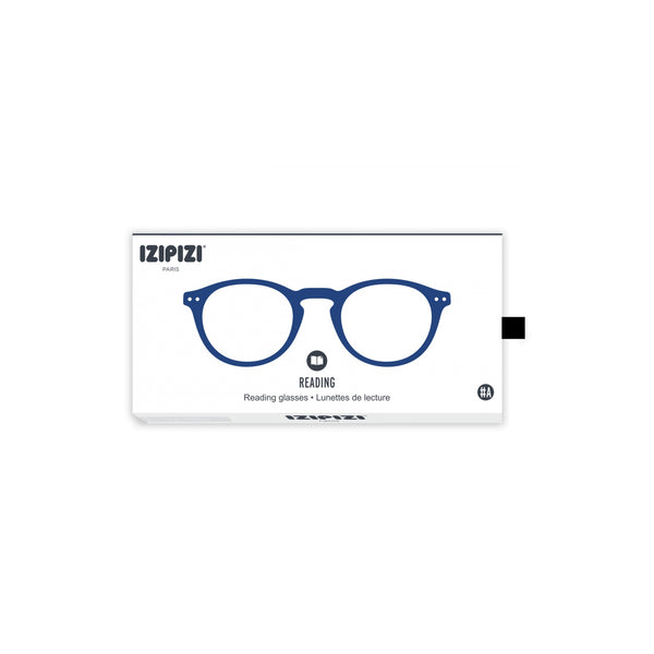 Izipizi - #A Navy Blue Reader Eyeglasses / +1.00 Lenses
