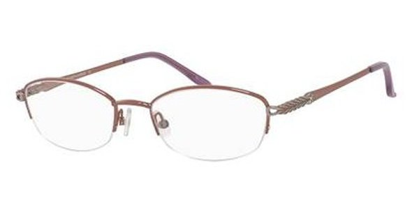 Saks Fifth Avenue - Saks 309T 51mm Lilac Eyeglasses / Demo Lenses