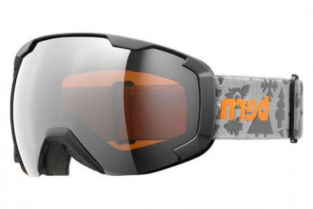 Bern - Sawyer Charcoal Creature Feature Goggles, Orange Light Mirror Lenses
