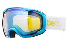 Bern - Scout White / Yellow Goggles, Yellow Light Mirror Lenses