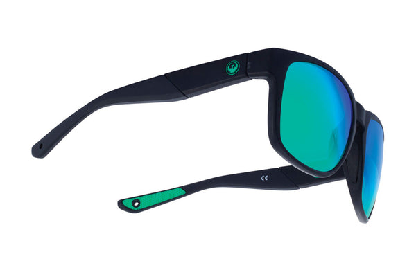 Dragon - SeafarerX Matte Black / Green Ion Performance Polar Sunglasses