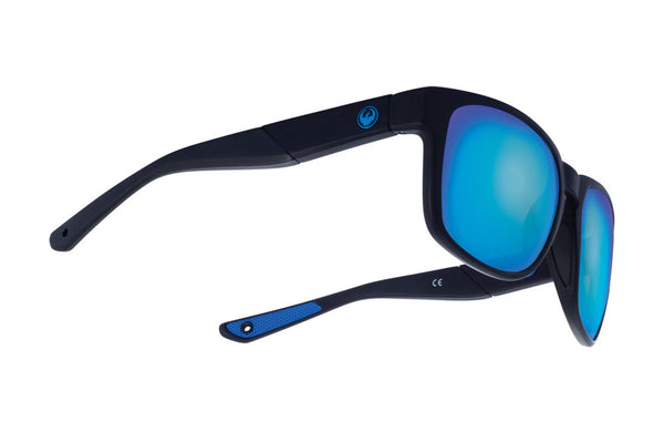 Dragon - SeafarerX Matte Black / Blue Ion Performance Polar Sunglasses