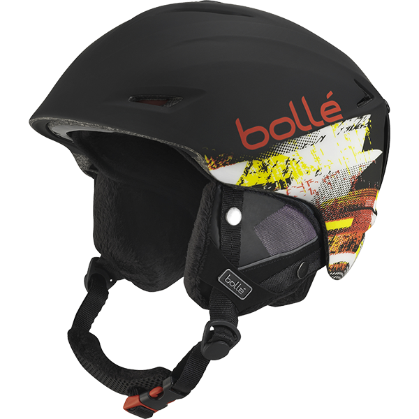 Bolle - Sharp Soft Black & Red Ski Helmet