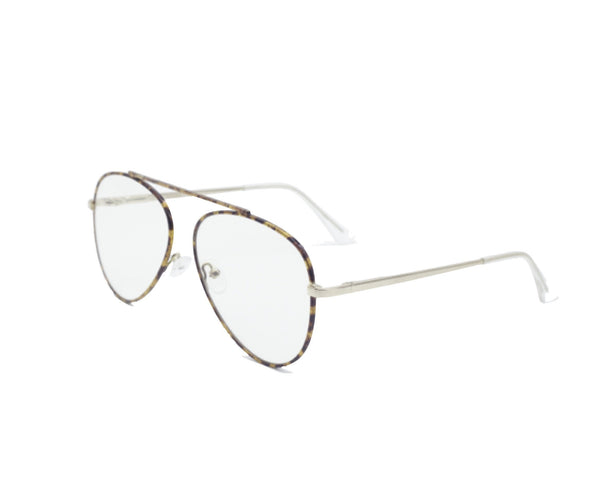 Shevoke - Hendrick Gold Sunglasses / Clear Lenses
