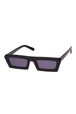 Karen Walker - Shipwrecks Black Sunglasses / Black Lenses
