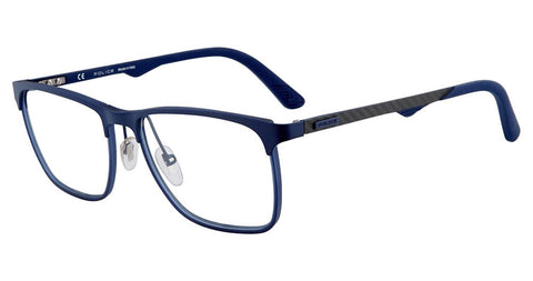 Police - VPL692 55mm Blue Eyeglasses / Demo Lenses
