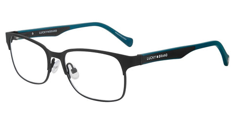 Lucky Brand - D809 47mm Black Eyeglasses / Demo Lenses