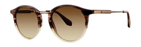 Zac Posen - Lenihan 51mm French Horn Sunglasses / Brown Gradient Lenses