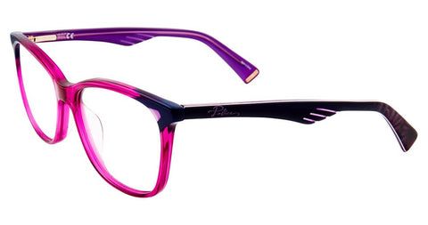 Police - VPL502 52mm Purple Eyeglasses / Demo Lenses