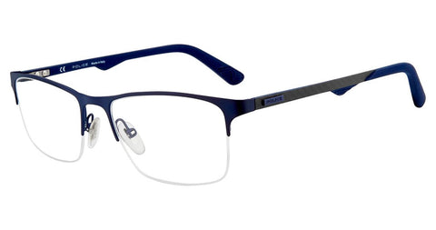 Police - VPL693 55mm Blue Eyeglasses / Demo Lenses
