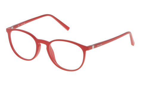 Police - V1973 50mm Red Eyeglasses / Demo Lenses