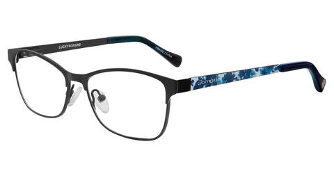 Lucky Brand - D713 47mm Black Eyeglasses / Demo Lenses