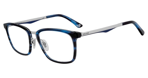 Police - VPL684 52mm Titanium Blue Eyeglasses / Demo Lenses