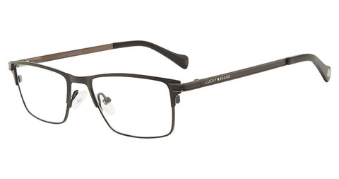 Lucky Brand - D813 48mm Black Eyeglasses / Demo Lenses