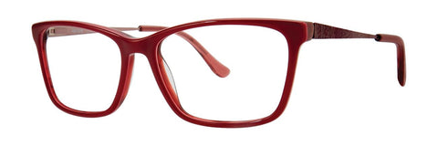 Kensie - Elixir 52mm Red Eyeglasses / Demo Lenses