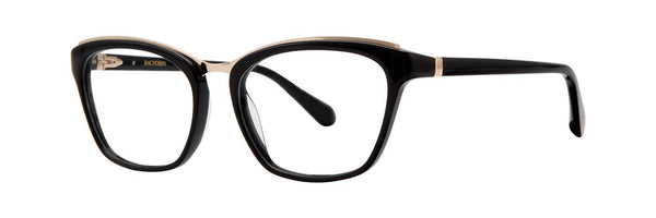 Zac Posen - Renata 52mm Black Eyeglasses / Demo Lenses