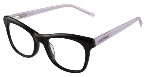 Lucky Brand - D708 47mm Black Eyeglasses / Demo Lenses
