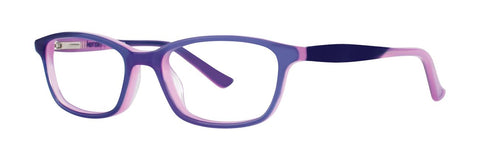 Kensie - Surprise 47mm Purple Eyeglasses / Demo Lenses